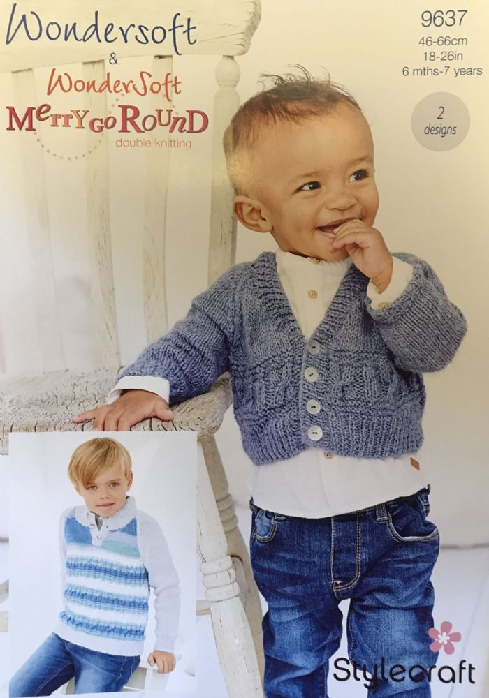 Wondersoft DK Prints and Merry Go Round Pattern 9637